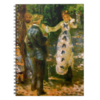 The Swing, Pierre Auguste Renoir Notebook