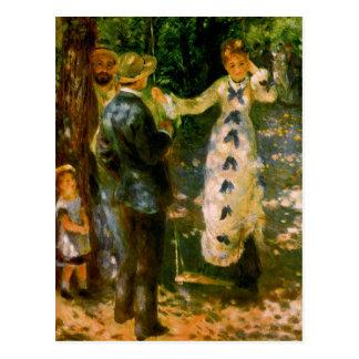 The Swing, Pierre Auguste Renoir Postcard