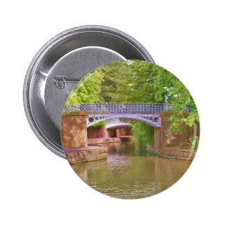 The Sydney Garden Bridges 2 Inch Round Button