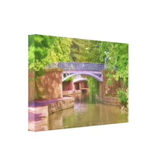 The Sydney Garden Bridges Canvas Print