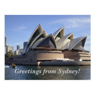 The Sydney Opera House Postcard
