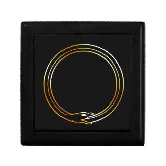 The symbol of Ouroboros snake Jewelry Boxes