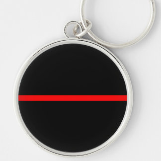 The Symbolic Thin Red Line Decor Keychain