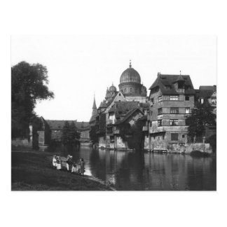 The synagogue at Nuremberg, c.1910 Postcard
