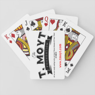The T. Moyt Foundation Playing Cards
