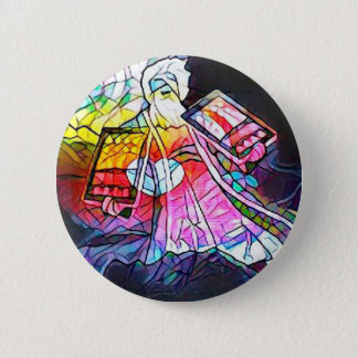 The Tablets of Moses 2 Inch Round Button