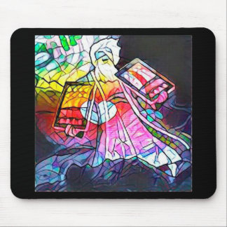 The Tablets of Moses Mouse Pad