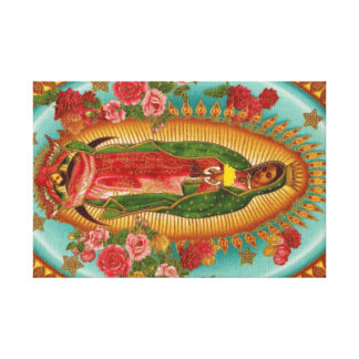 The Taco Saint Canvas Print