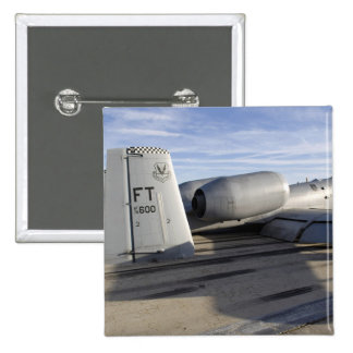 The tail section of an A-10 Thunderbolt II Pinback Buttons