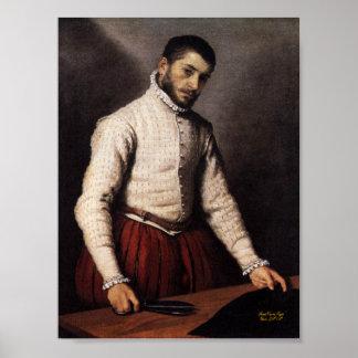 The Tailor, The Tailor Giovanni Battista Moroni Poster