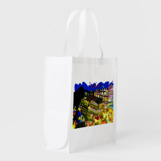 The Taiwan nine 份 it is loose picture Reusable Grocery Bag