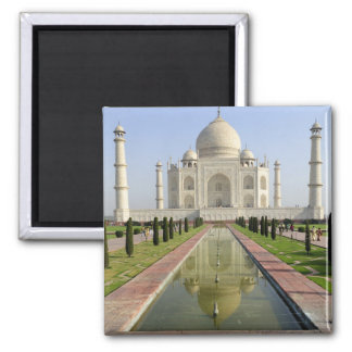 The Taj Mahal, Agra, Uttar Pradesh, India, Square Magnet