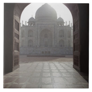 The Taj Mahal framed through the doorway to the Tiles