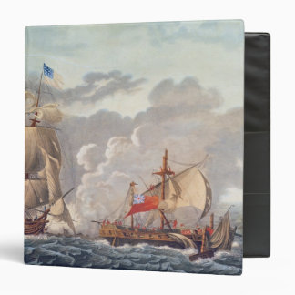 The Taking of the English Vessel 'The Java' Vinyl Binder