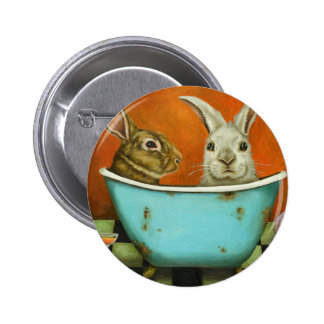 The Tale Of Two bunnies 2 Inch Round Button