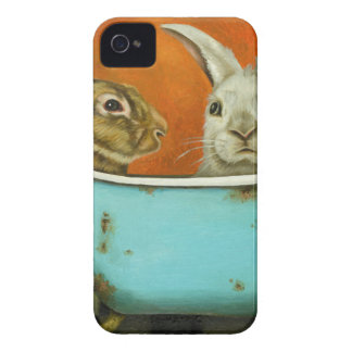 The Tale Of Two bunnies iPhone 4 Case-Mate Cases