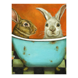 The Tale Of Two bunnies Letterhead Template
