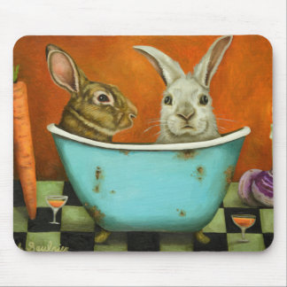 The Tale Of Two bunnies Mouse Pad
