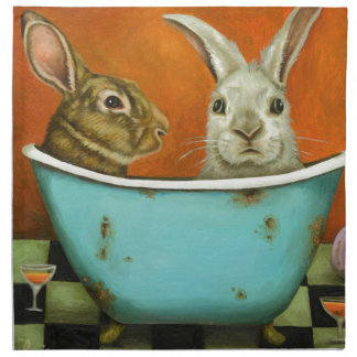 The Tale Of Two bunnies Napkin