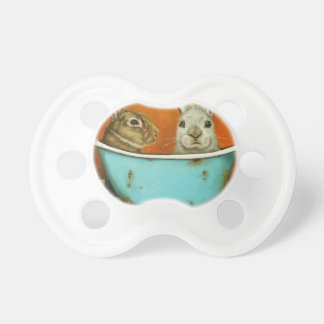 The Tale Of Two bunnies Pacifier