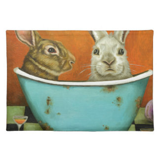 The Tale Of Two bunnies Placemat