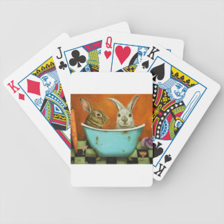 The Tale Of Two bunnies Poker Deck