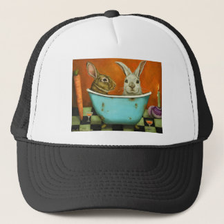 The Tale Of Two bunnies Trucker Hat