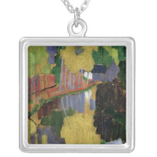 The Talisman Silver Plated Necklace