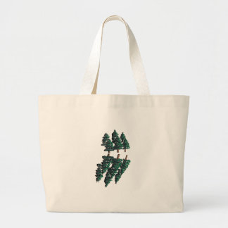 THE TALL TREES LARGE TOTE BAG