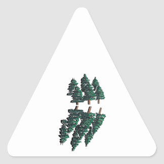THE TALL TREES TRIANGLE STICKER