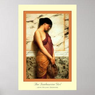 The Tambourine Girl Poster