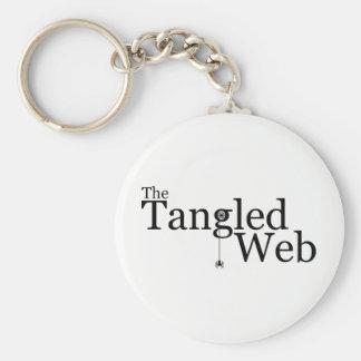 The Tangled Web Keychain