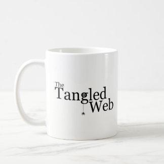 The Tangled Web logo mug