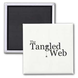 The Tangled Web Magnet