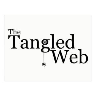The Tangled Web Postcard