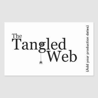The Tangled Web Sticker