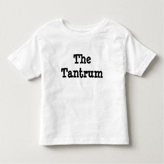 The Tantrum Kid, Child's Humorous Shirt