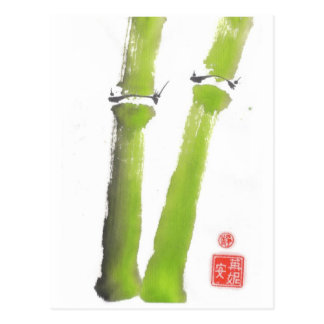 The Tao of Bamboo Postcard