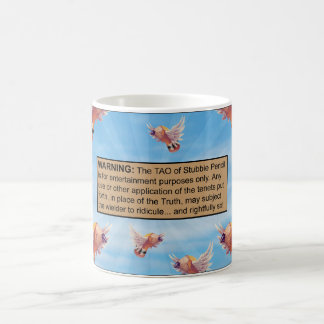 The Tao of Stubbie Pencil Disclaimer Mug