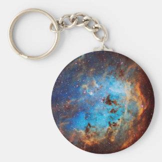The Tapdole Nebula Basic Round Button Keychain