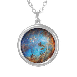 The Tapdole Nebula Silver Plated Necklace
