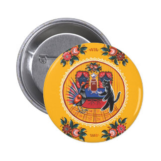 The tea party 2 inch round button