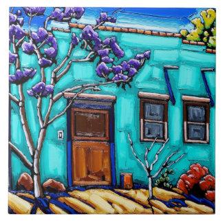 The Teal Green Tucson Barrio Tile
