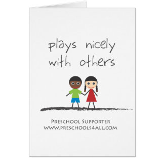 The Team Player Greeting Card
