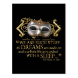 The Tempest Quote (Gold Version)
