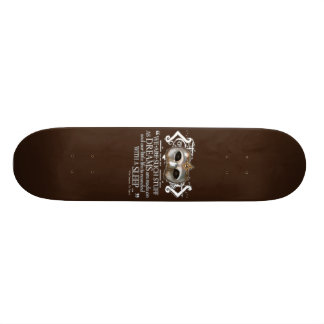 The Tempest Quote Skateboard Decks