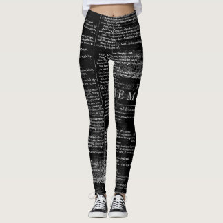 The Tempest Shakespeare Play Leggings