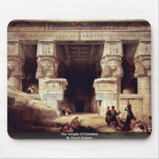 The Temple Of Dendera By David Roberts Mousepads