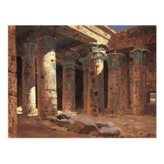 The Temple of Isis on Philae island Vasily Polenov Postcard