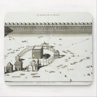 The Temple of Mecca (engraving) Mouse Pad